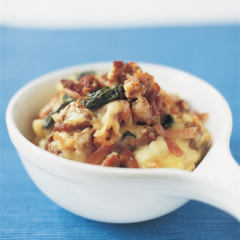 Potato, Spinach, and Sausage Casserole Recipe - Cook's Country