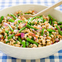 Two-Bean Salad with Bacon
