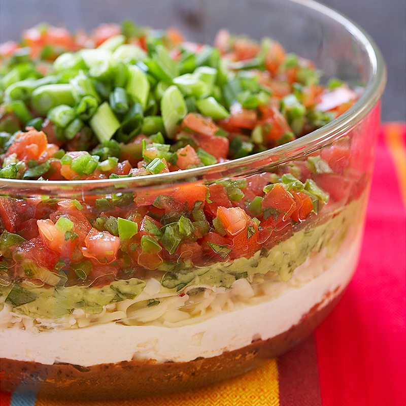 Ultimate Seven-Layer Dip Recipe - Cook's Country