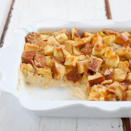 Pecan Bread Pudding with Bourbon and Orange Recipe - Cook's ...