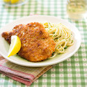 Crispy Garlic Chicken Cutlets