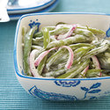Cool and Creamy Green Bean Salad