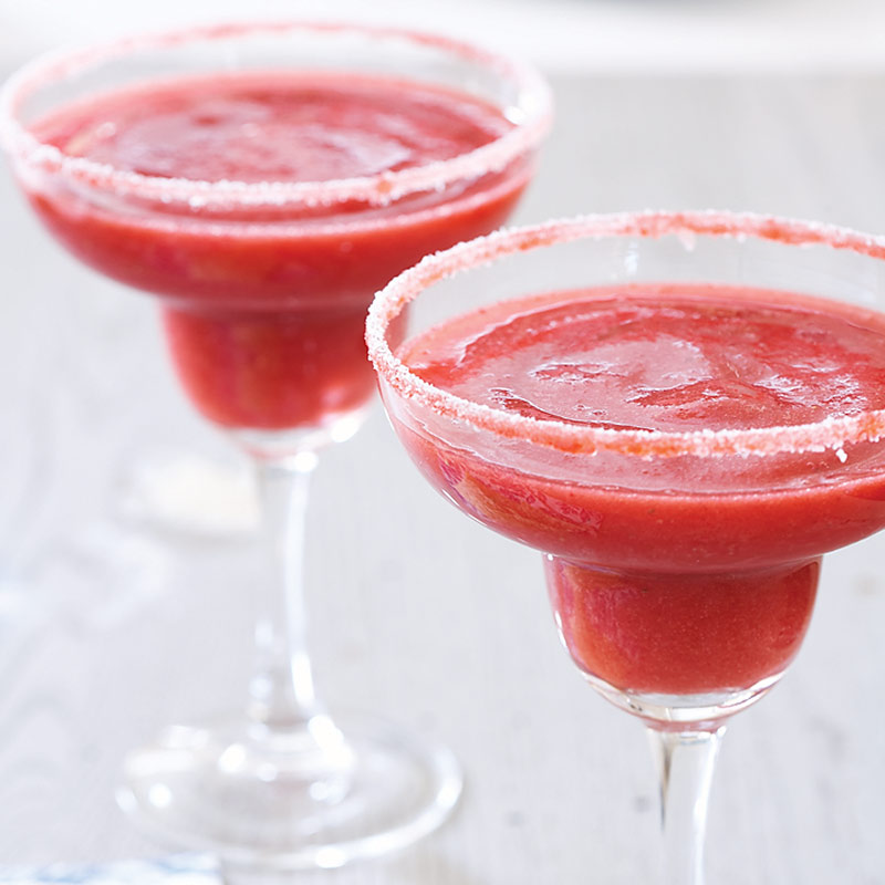 Frozen Strawberry Margaritas Recipe - Cook's Country