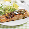 Sweet and Saucy Gas-Grilled Salmon with Lime-Jalapeno Glaze