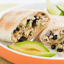 Oven-Baked Chicken Chimichangas