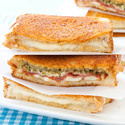 Pear-Walnut-Gorgonzola Grilled Cheese