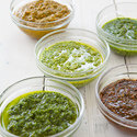 Sun-Dried Tomato-Arugula Pesto