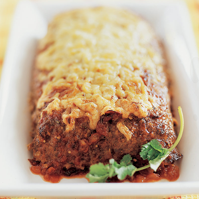 Cheesy Southwestern Meatloaf Recipe - Cook's Country