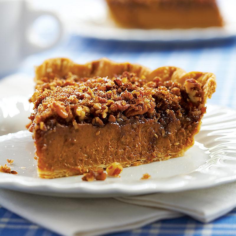Pumpkin-Praline Pie Recipe - Cook's Country