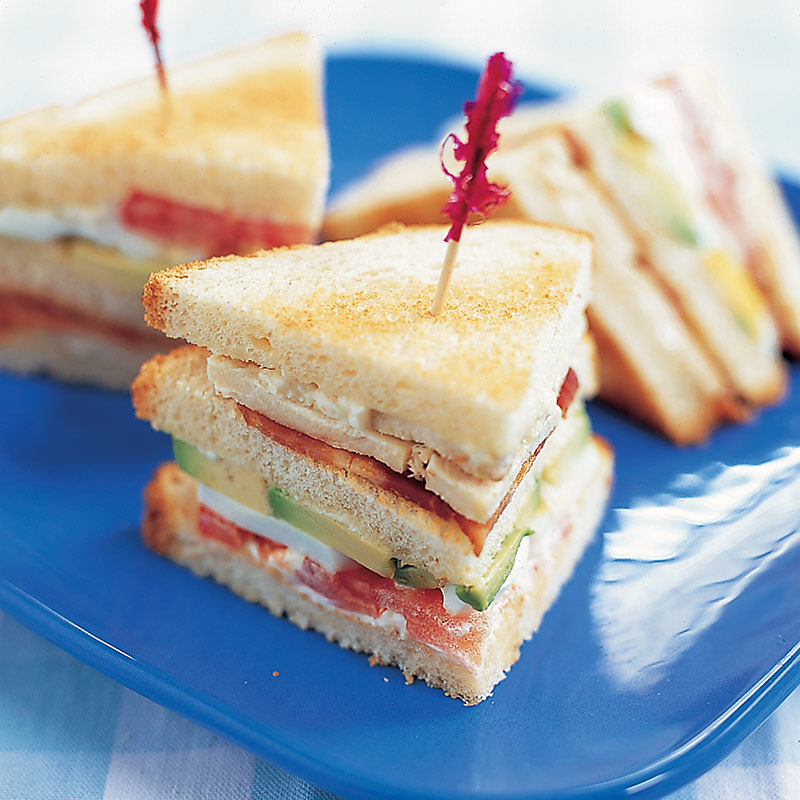 club sandwich marinated chicken club sandwich turkey club sandwich ...