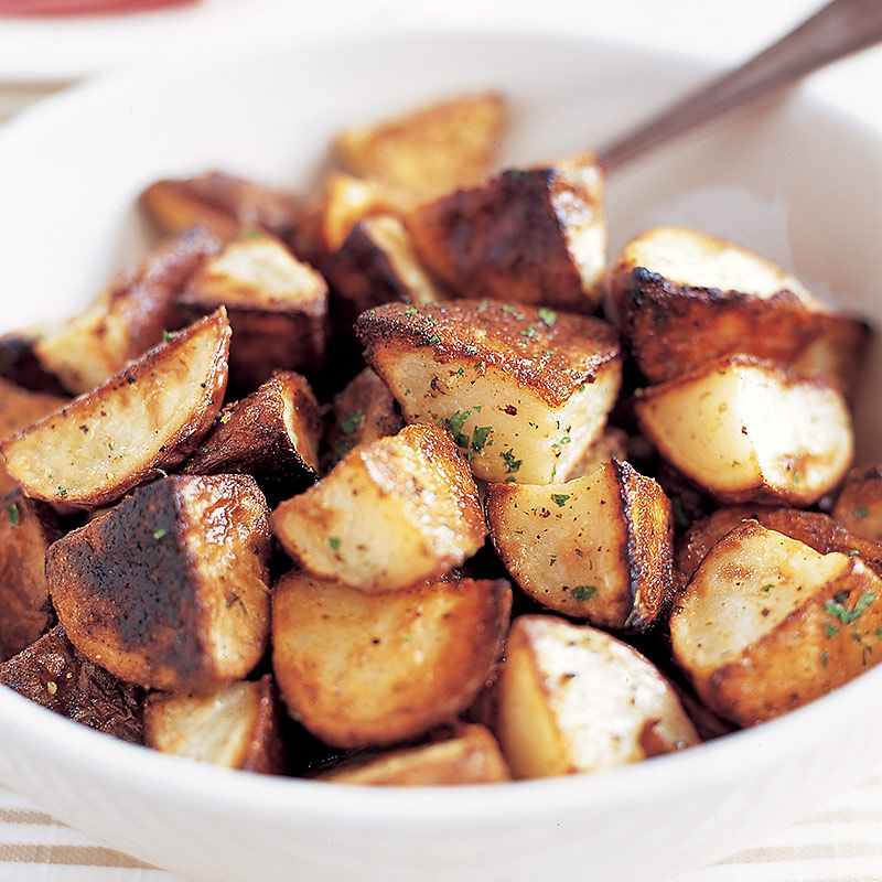 Roasted Garlic Potatoes Recipe Dishmaps