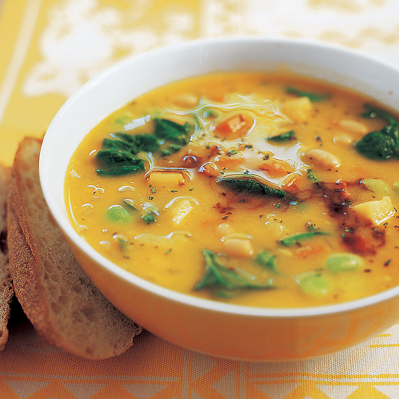 Hearty Winter Vegetable Soup Recipe — Dishmaps