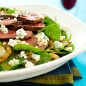 Steak, Mushroom, and Blue Cheese Salad