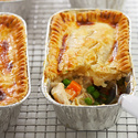 Freezer Chicken Pot Pies