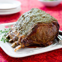 Herb-Roasted Prime Rib and Potatoes