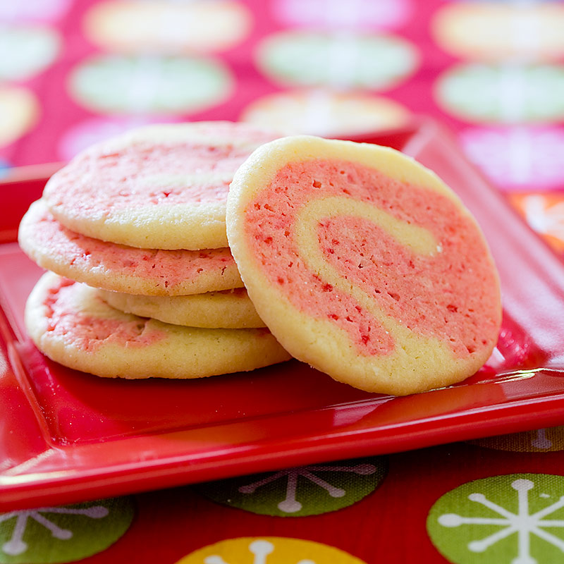 Candy Cane Pinwheels Recipe - Cook's Country