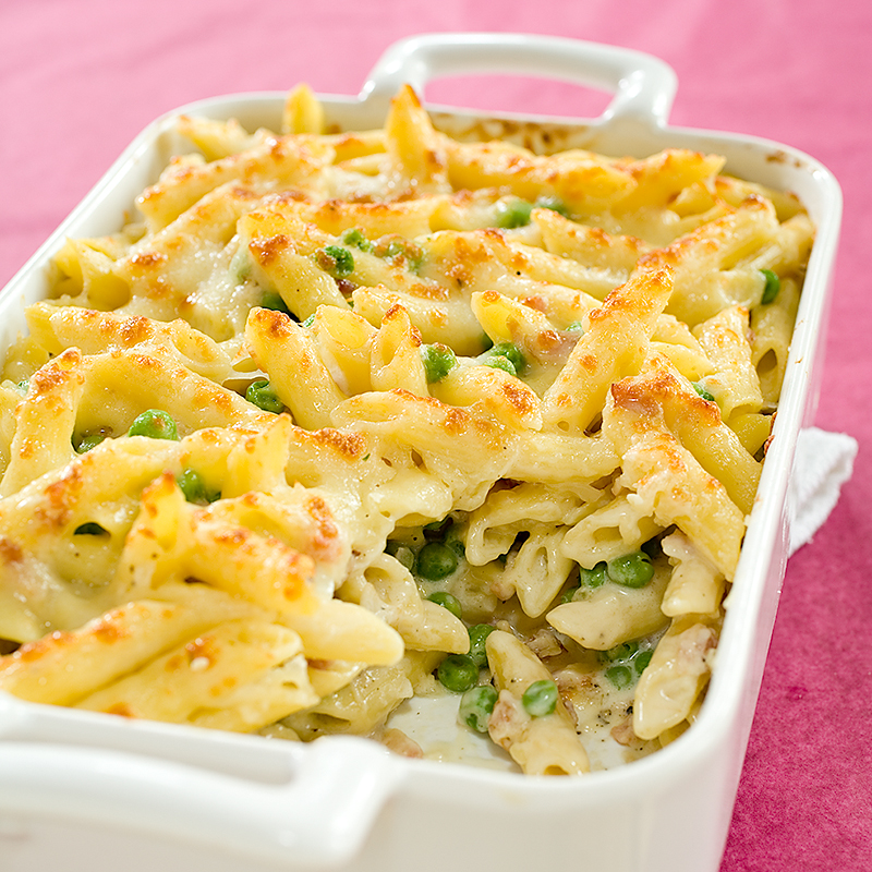 Four-Cheese Pasta Recipe — Dishmaps