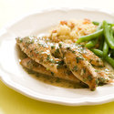 Sauteed Lemon Chicken Strips
