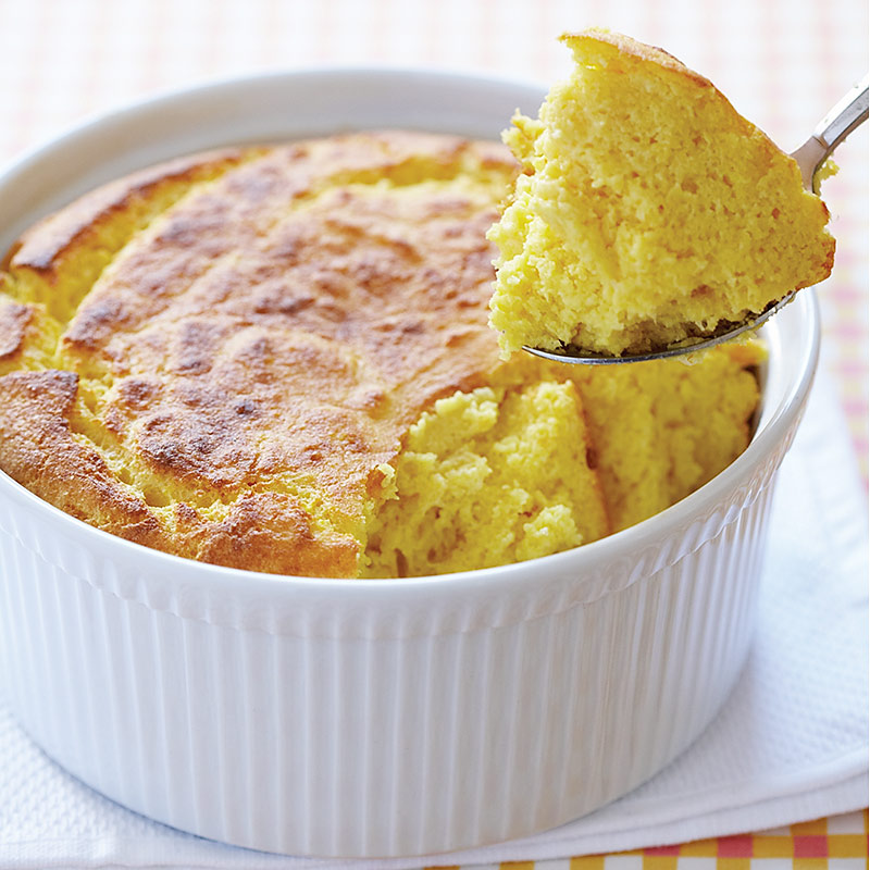 Sweet Corn Spoonbread