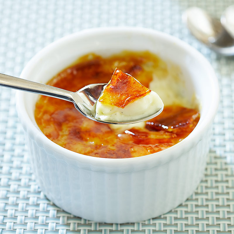 Low-Fat Creme Brulee