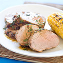 Rum-Glazed Grilled Pork Tenderloin
