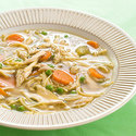 Hearty Chicken, Vegetable, and Noodle Soup