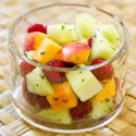 Honeydew, Raspberry, and Nectarine Salad