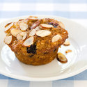 Blueberry-Pear-Ginger-Oatmeal Muffins