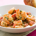 Garlic Shrimp with Basil