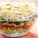 Layered Mexican Salad
