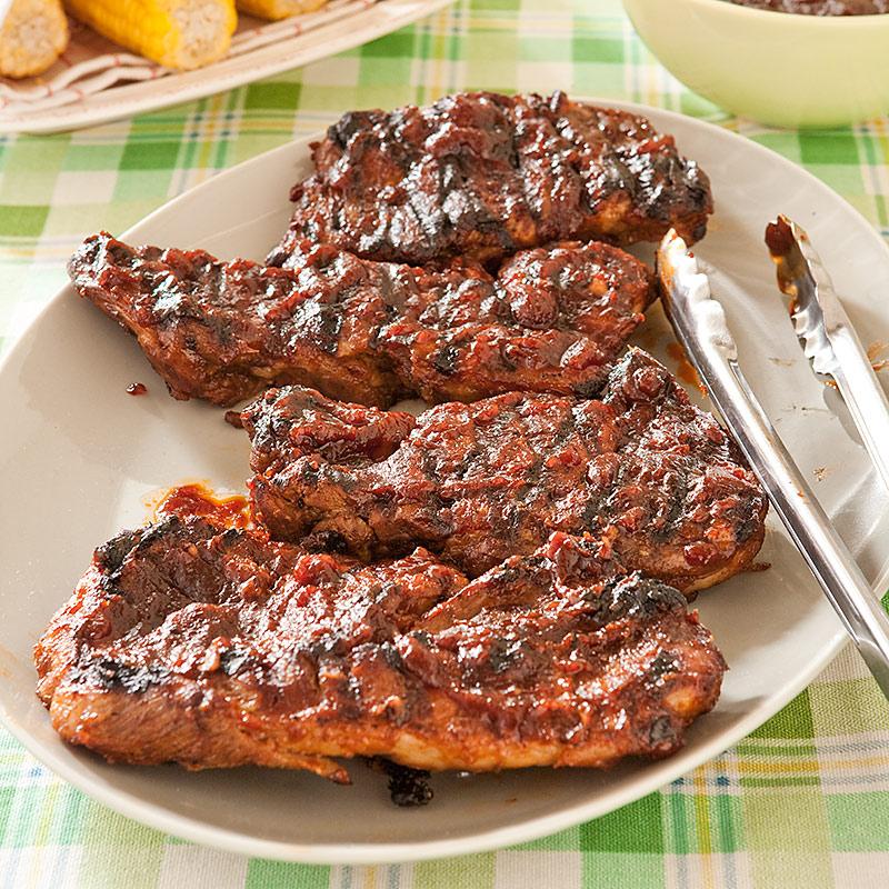 St Louis Pork Steaks America S Test Kitchen