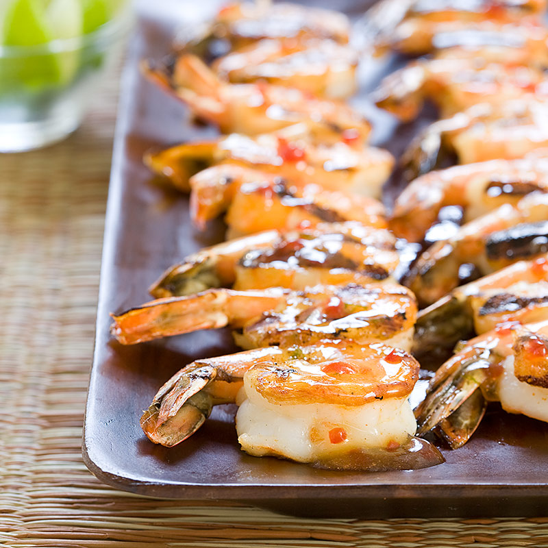 Spicy Grilled Shrimp Skewers