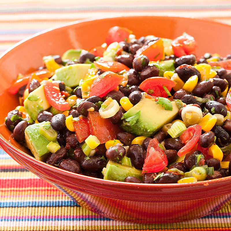 Southwestern Black Bean Salad Recipe - Cook's Country
