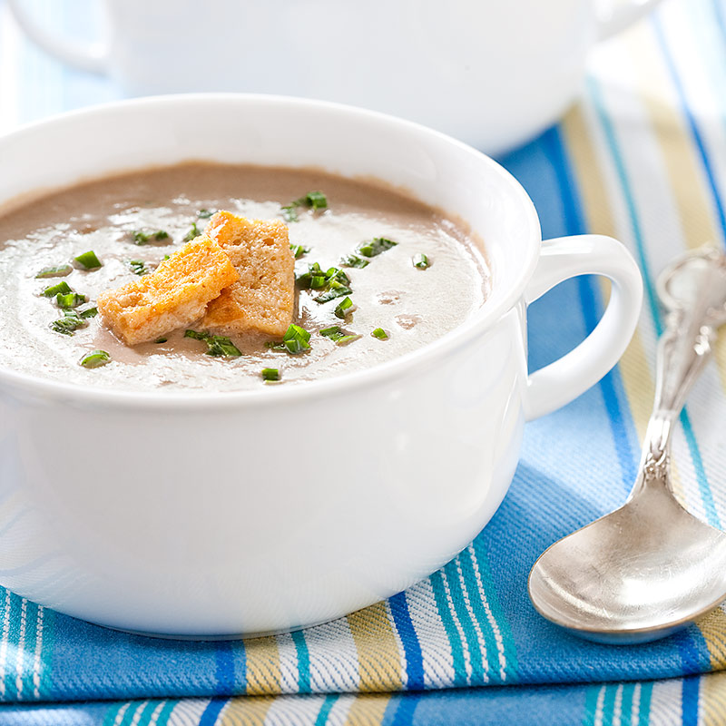 Creamy Mushroom Soup Recipe - Cook's Country
