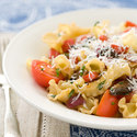 Pasta with Pan-Roasted Vegetables