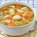 Quick Chicken and Dumpling Soup