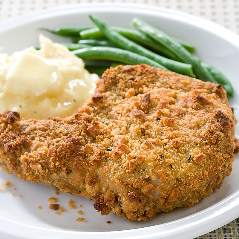 Baked Pork Chops with Parmesan-Sage Crust Recipe - Cook's Country
