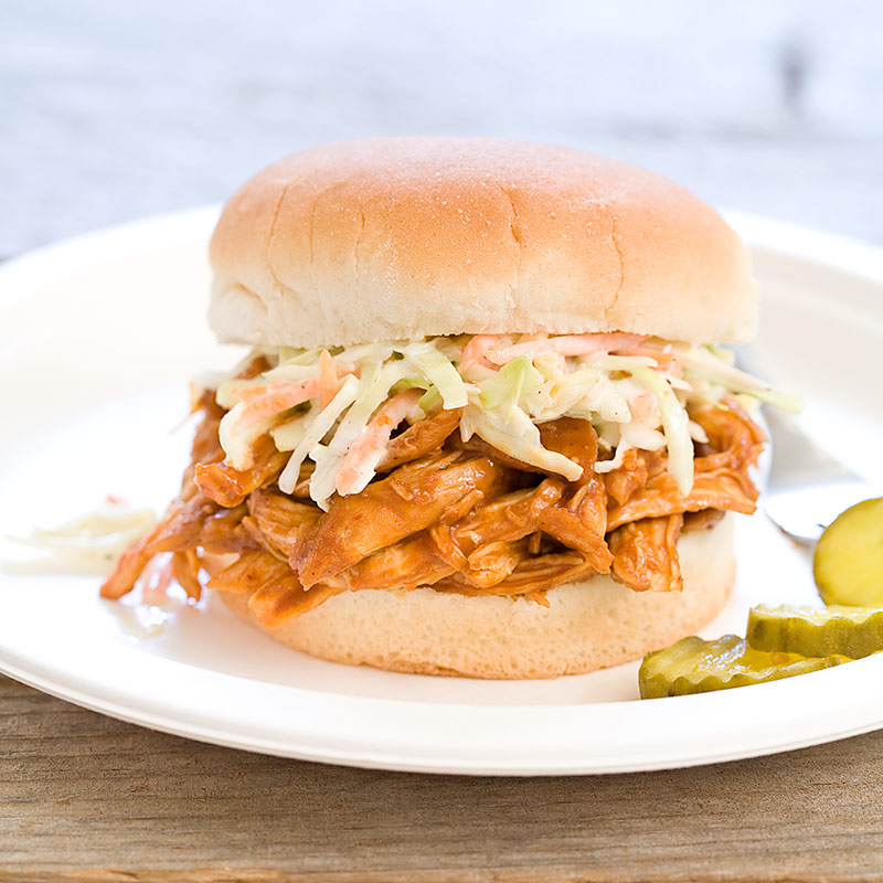 BBQ Chicken Sandwiches with Buttermilk Slaw Recipe - Cook's Country