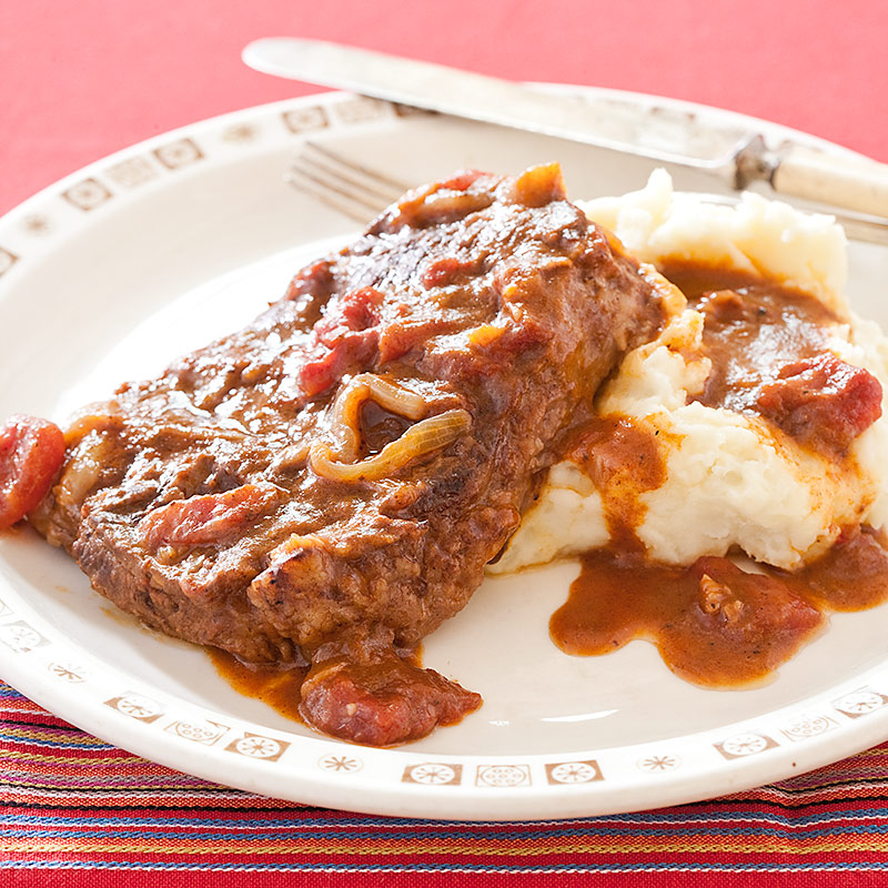 Swiss Steak with Tomato Gravy