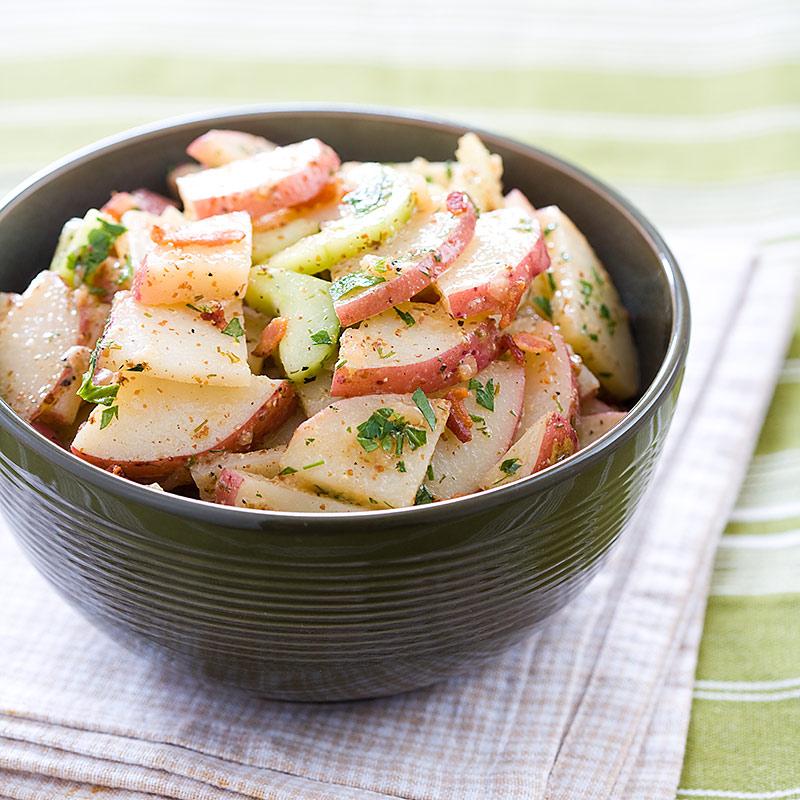 Country Potato Salad Recipe — Dishmaps