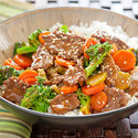 Steak and Broccoli Stir-Fry