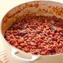 Meaty Baked Beans