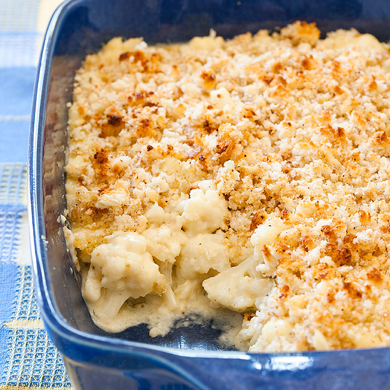Cheesy Cauliflower Bake Recipe - Cook's Country