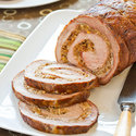 Sausage-Stuffed Pork Loin
