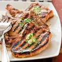 Caribbean Grilled Thin-Cut Pork Chops