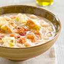 White Bean Soup with Rosemary Croutons