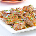 Orange-Glazed Pork Medallions