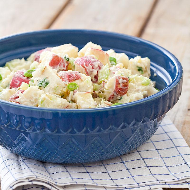 Reduced-Fat Potato Salad