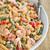Roasted Red Pepper Shrimp and Pasta Salad