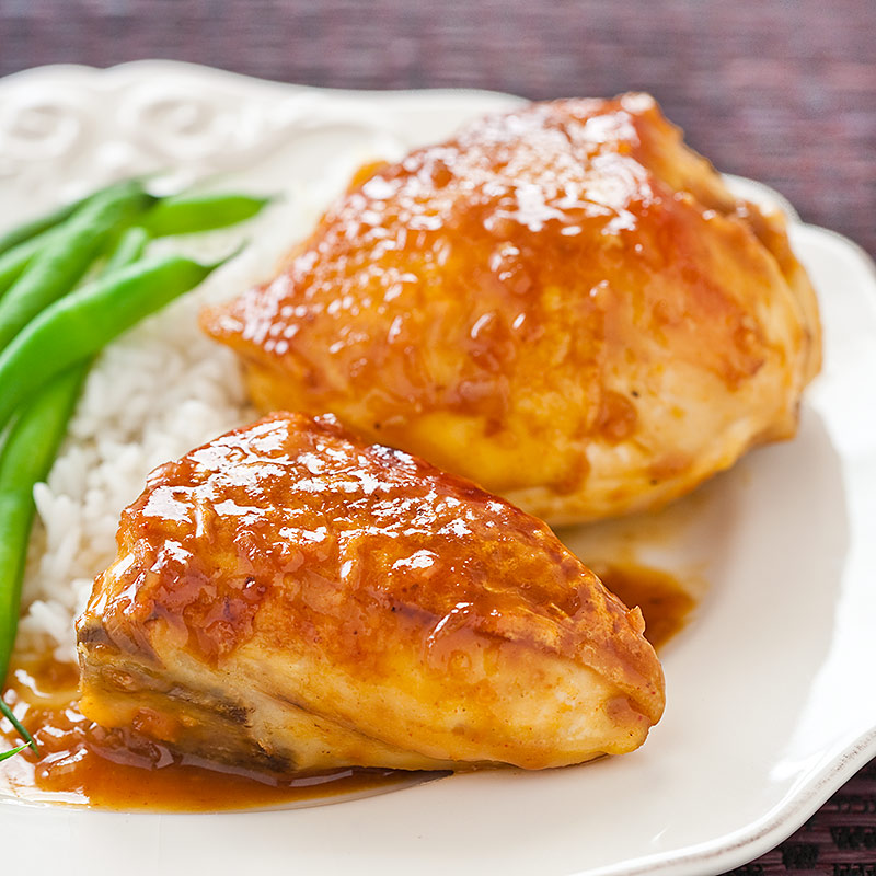 Orange-Glazed Chicken Recipe - Cook's Country